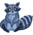 raccoon character vector image