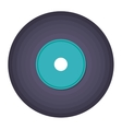 vinyl music isolated icon design vector image vector image