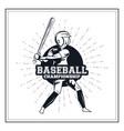Baseball player icon