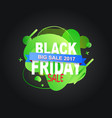 black friday banner discount 2017 season vector image vector image