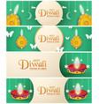 diwali is festival lights hindu for vector image vector image