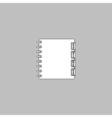 Organizer computer symbol vector image