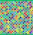 rainbow geometric seamless pattern of vector image vector image