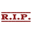 RIP Watermark Stamp vector image