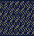 seamless stylish texture with circles and dark vector image vector image