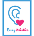 stValentine icons card 9 vector image vector image