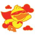 Super Duck vector image vector image