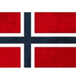 True proportions Norway flag with texture