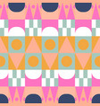 african color block seamless pattern vector image vector image