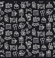 celebrations seamless pattern vector image