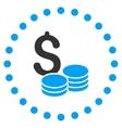 Dollar Cash Icon vector image vector image