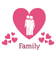 Family design vector image vector image