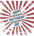 Happy Independence Day Holiday Ribbon vector image vector image