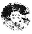 Mascara texture Decorative artistic element vector image