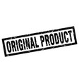 square grunge black original product stamp vector image vector image