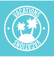 Vacations vector image