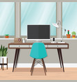 working room vector image vector image
