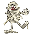 Creepy mummy vector image