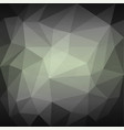 abstract gray grid mosaic background vector image vector image