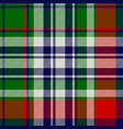 celtic classic check plaid seamless pattern vector image vector image