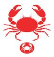 Crab Logo vector image