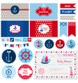 Design Elements - Baby Shower Nautical Theme