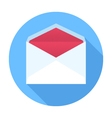 Envelope Flat Design icon vector image vector image