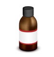 Medicine Bottle vector image