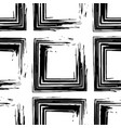 modern grunge geometric seamless pattern with vector image vector image