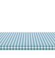 picnic tablecloth retro white blue cloth squares vector image