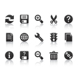 universal software icons vector image vector image