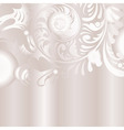 vector floral background vector image vector image