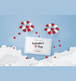concept valentines day vector image