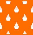 Cupcake pattern seamless