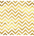 Geometric golden chevron seamless pattern vector image