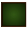 isolated empty chalkboard vector image