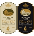 Label for olive oil Made in Italy vector image