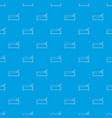 medical bed pattern seamless blue vector image vector image