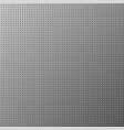 metal dot texture gray background vector image vector image