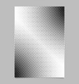 monochrome abstract halftone dot pattern brochure vector image vector image