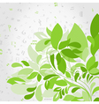 Plant music vector image