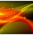 Shiny orange abstract background vector image vector image