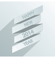 2014 new year poster vector image