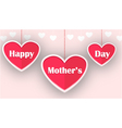 happy mother day for you design vector image