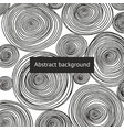 abstract background with round patterns vector image vector image