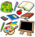 back to school collection 1 vector image vector image