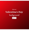 background I love you Valentines Day vector image