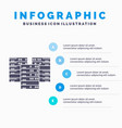 center centre data database server infographics vector image vector image