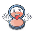 crazy blush is isolated with the cartoons vector image vector image