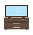 Dressing Table vector image